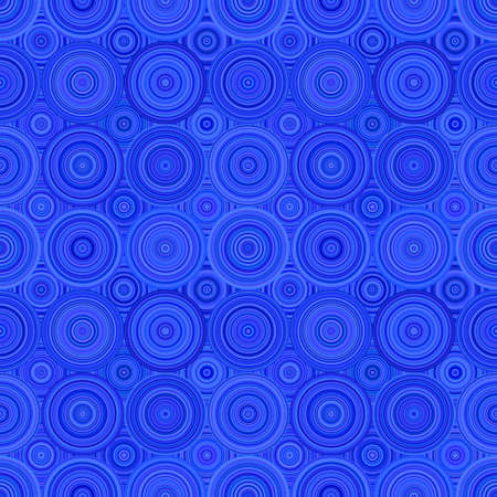 Abstract geometrical circle mosaic pattern - vector background design