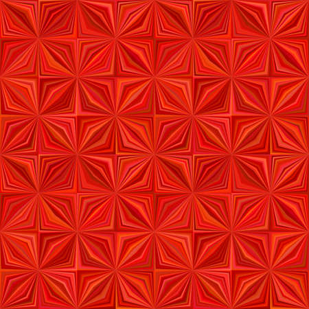 Red abstract geometric stripe tile mosaic pattern background - seamless graphic design