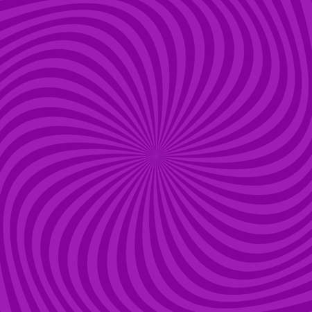 Purple abstract spiral ray pattern background - vector design