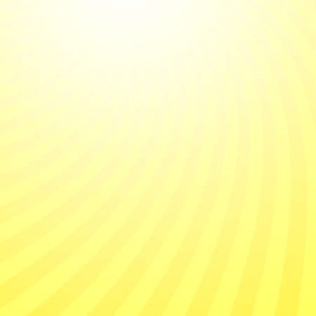 Abstract yellow spiral sun ray background - vector design