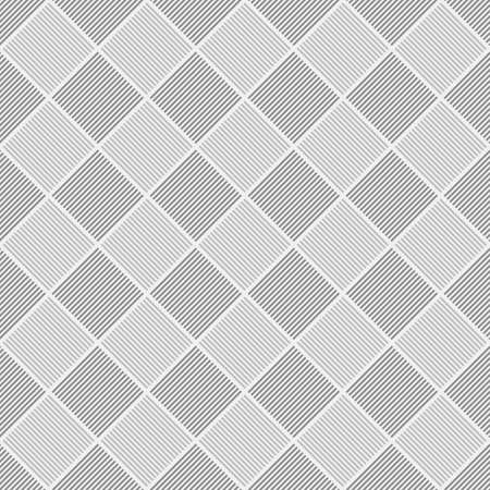 Grey geometrical repeating pattern - vector square design background