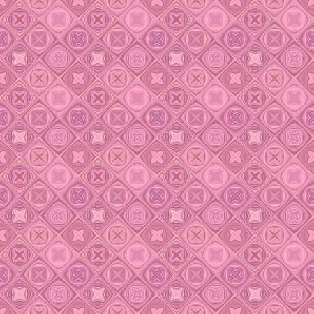 Seamless abstract diagonal mosaic pattern background - vector floor illustration