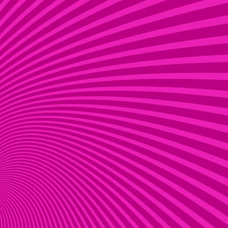 Hypnotic curved pattern background - vector illustration