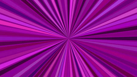 Purple psychedelic abstract striped starburst background design - vector explosion graphic 向量圖像