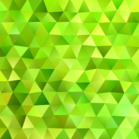 Retro geometric irregular polygonal triangle background - vector graphic