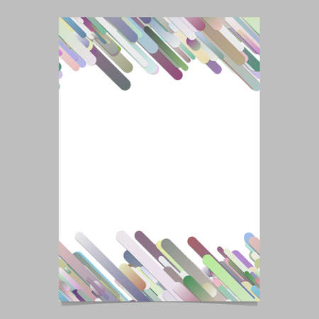 Abstract modern gradient diagonal rounded stripe pattern card background template graphics