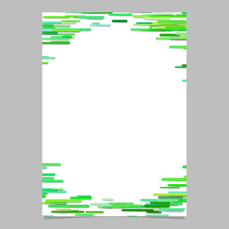 Abstract horizontal rounded stripe background brochure template - vector border illustration Illustration