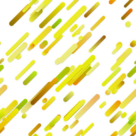 Colorful seamless trendy gradient diagonal rounded stripe background pattern - vector design