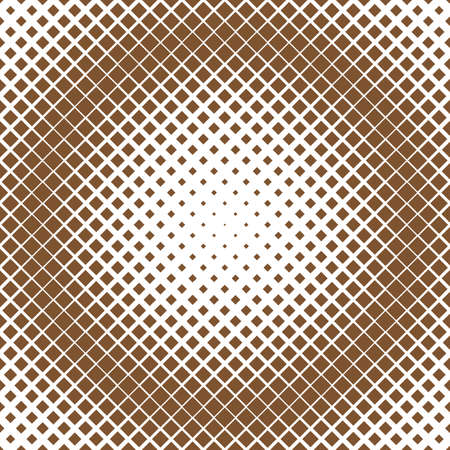 Retro abstract halftone square pattern background - vector graphic from diagonal squares
