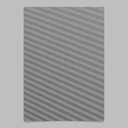 Gradient geometric line page background - abstract vector stationery template design from stripes