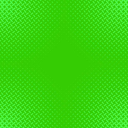 Green halftone line pattern background template - abstract vector graphic design