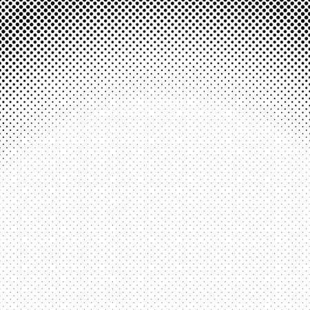 Abstract geometric halftone circle pattern background - vector graphic from dots