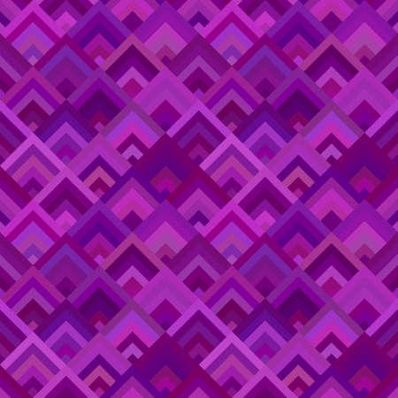 Purple geometric diagonal square mosaic tile pattern background - seamless graphic