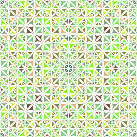 Abstrait coloré répétant le papier peint motif kaléidoscope triangle incurvé - graphique de fond vecteur géométrique