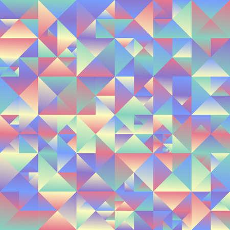 Gradient geometrical triangle  background - multicolored polygonal vector design Иллюстрация