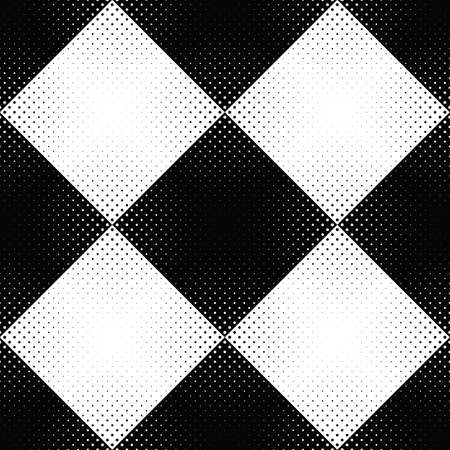 Abstract black and white circle pattern background design Иллюстрация