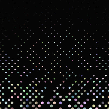 Colorful geometrical dot pattern background - graphic design with small dots Ilustracja