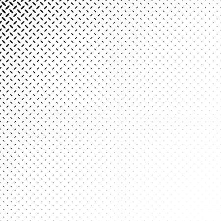 Monochrome geometric halftone ellipse pattern background design - abstract vector graphic
