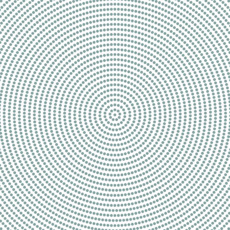 Retro halftone circle pattern background - abstract vector graphic design