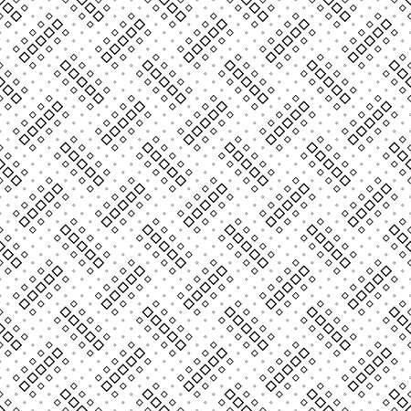 Geometrical black and white square pattern background