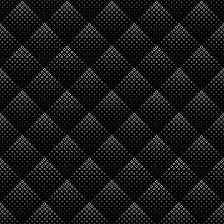 Abstract monochrome diagonal square pattern background design
