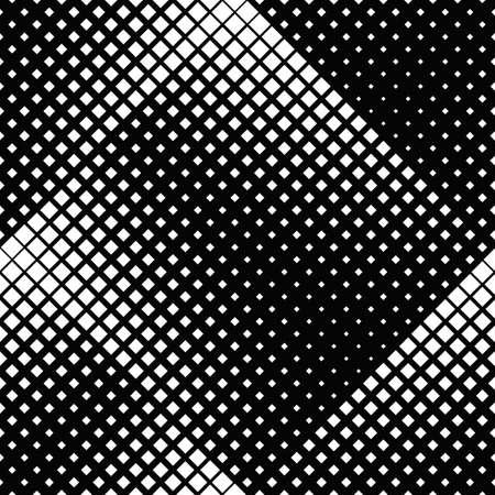 Black and white seamless diagonal square pattern background Ilustração