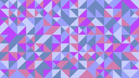 Random colorful polygonal mosaic pattern webpage background Ilustração