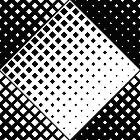 Seamless geometrical diagonal square pattern background design Ilustração