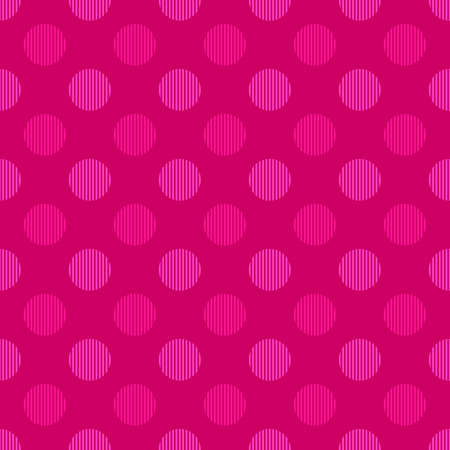 Abstract repeating pattern - vector circle background design