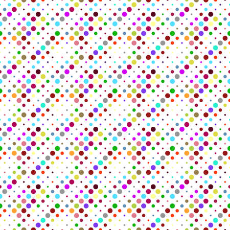Multicolor dot pattern background - multicolored abstract vector graphic design