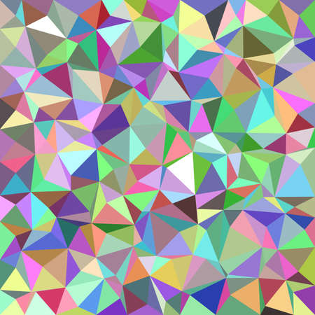 Colorful abstract triangle tile mosaic pattern background