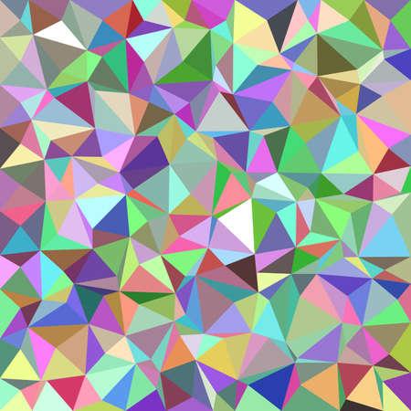 Triangle abstrait coloré mosaïque de fond