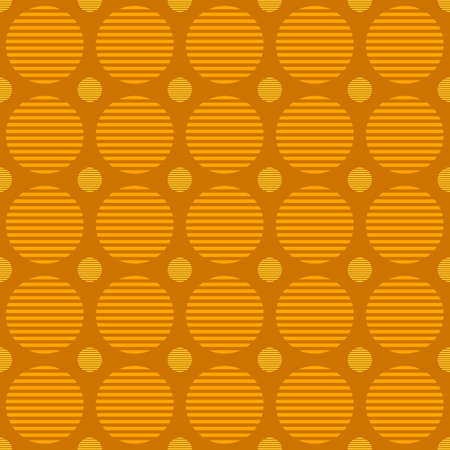 Abstract seamless circle pattern background design