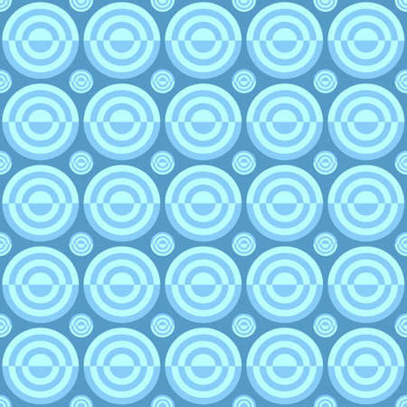 Geometrical seamless pattern - vector circle background