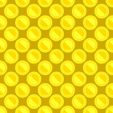 Simple seamless circle pattern background design