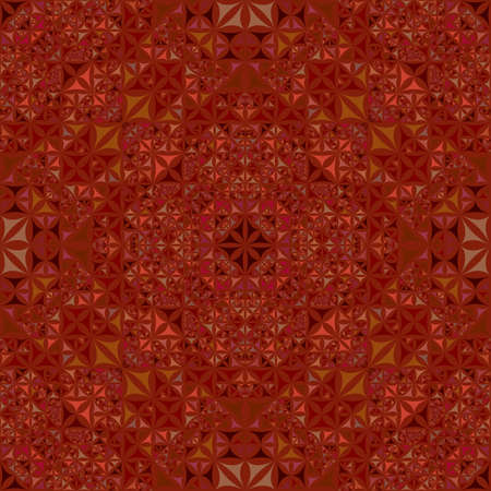 Brown abstract seamless curved triangle kaleidoscope pattern wallpaper