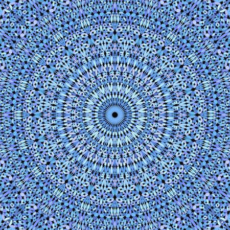 Blue gravel ornate mandala pattern wallpaper Stok Fotoğraf - 130695126