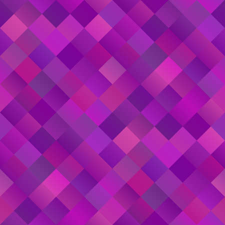 Colorful seamless abstract diagonal square pattern background Ilustrace