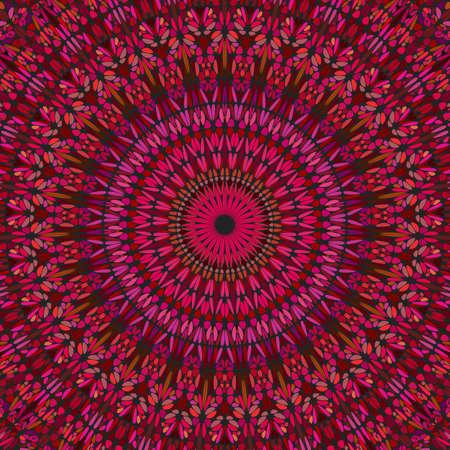 Psychedelic dynamic gravel ornament mandala background design