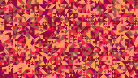 Colorful abstract geometrical mosaic pattern hd background Ilustrace