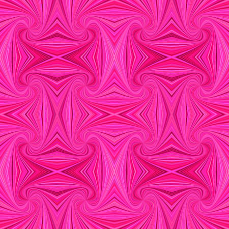 Pink psychedelic seamless striped spiral vortex pattern background