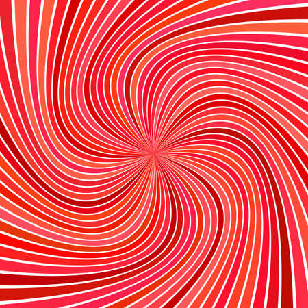 Red hypnotic abstract spiral stripe background