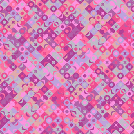 Abstract colorful geometrical mosaic pattern background design