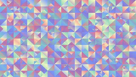Multicolored polygonal geometrical triangle mosaic desktop background