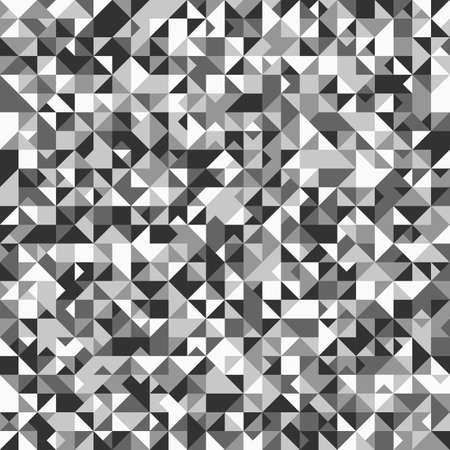 Gray geometrical triangle mosaic pattern background design