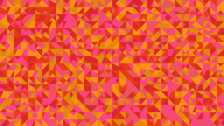 Abstract colorful polygonal mosaic pattern background design Ilustrace