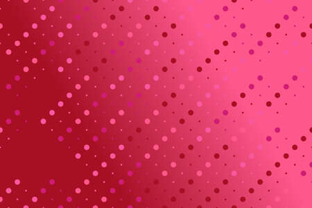 Colorful geometrical gradient circle pattern background design