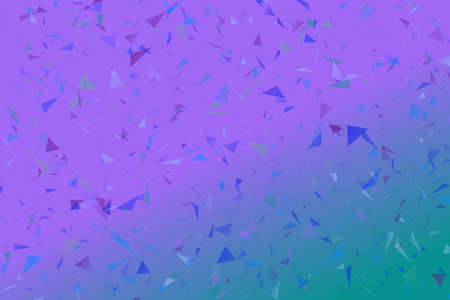 Random gradient abstract triangle particle landing page background