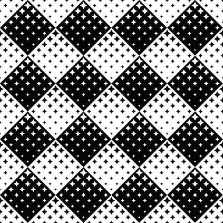 Impression de fond étoile - dessin vectoriel géométrique abstrait