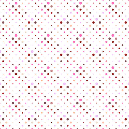 Abstract circle pattern background design - geometrical vector graphic Ilustrace